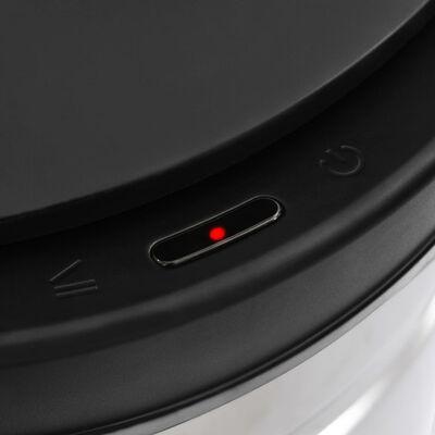 vidaXL automata érzékelős rozsdamentes acél szemeteskuka 80 L