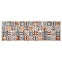 vidaXL mozaikmintájú mosható konyhaszőnyeg 60 x 180 cm