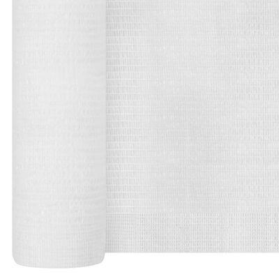 vidaXL fehér HDPE belátásgátló háló 1,2 x 25 m 150 g/m²