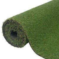vidaXL zöld műfű 1,33 x 10 m / 20 mm