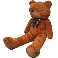 vidaXL barna ölelnivaló plüss játékmackó 242 cm