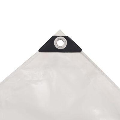 vidaXL fehér takaróponyva 650 g/m² 3 x 4 m