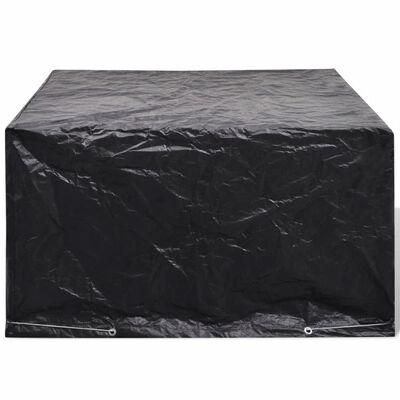 vidaXL kerti bútor védőhuzat 8 fűzőlyukkal 172 x 113 x 73 cm