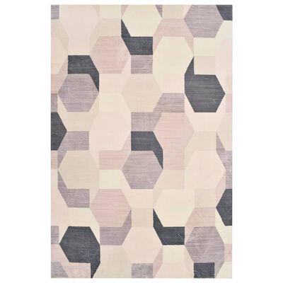 vidaXL többszínű mintás poliészterszőnyeg 120 x 170 cm