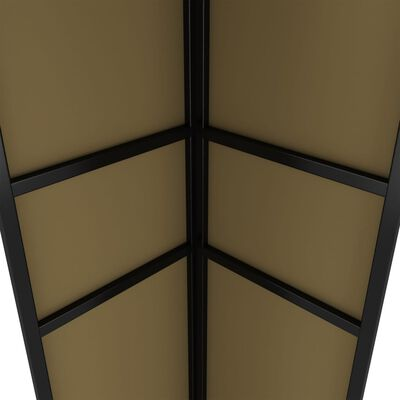 vidaXL tópszínű dupla tetős pavilon 3 x 6 m 180 g/m²