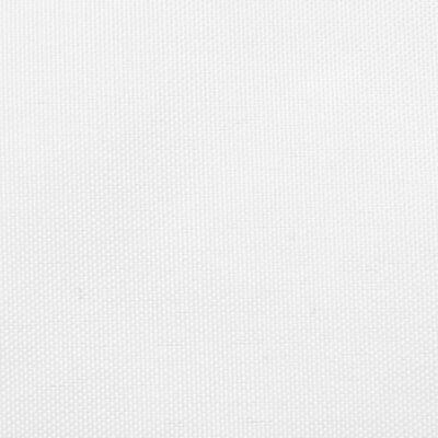 vidaXL fehér háromszögű oxford-szövet napvitorla 3 x 4 x 5 m