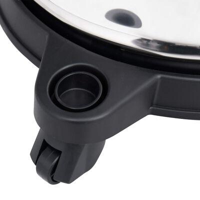 vidaXL rozsdamentes acél HEPA-szűrős hamuporszívó 1200 W 20 L