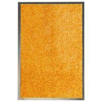 vidaXL narancssárga kimosható lábtörlő 40 x 60 cm