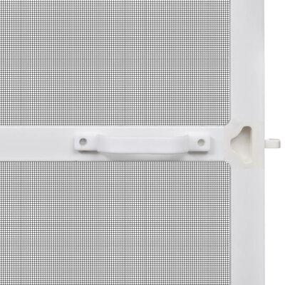Fehér csukló ajtós szúnyogháló 100 x 215 cm