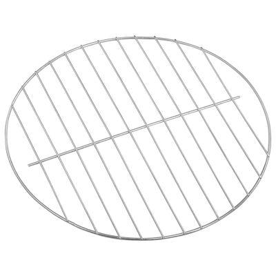 vidaXL hordozható XXL faszenes gömbgrill kerekekkel 44 cm