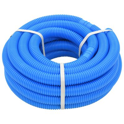 vidaXL kék medencetömlő 32 mm 12,1 m