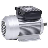 vidaXL 2 pólusú egyfázisú alumínium villanymotor 1,5kW / 2 LE 2800 f/p