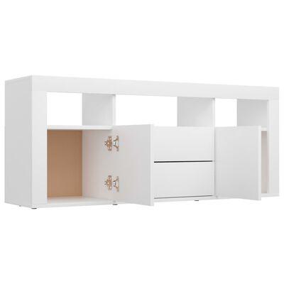 vidaXL fehér forgácslap TV-szekrény 120 x 30 x 50 cm