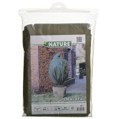 Nature zöld téli gyapjútakaró 70 g/m2 2 x 2,5 m