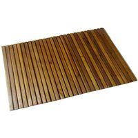 Akácfa fürdőszőnyeg 80 x 50 cm