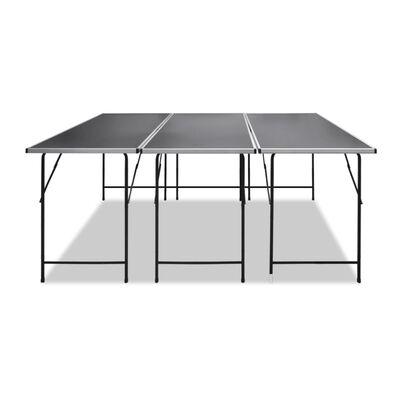 vidaXL 3 db összecsukható tapétázóasztal