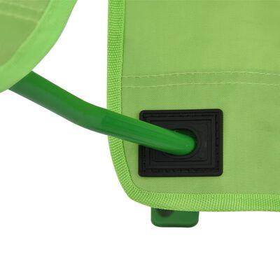 vidaXL 2 db zöld szövet kerti gyerekszék