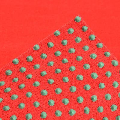 vidaXL piros szegecses aljú műfű 2 x 1,33 m