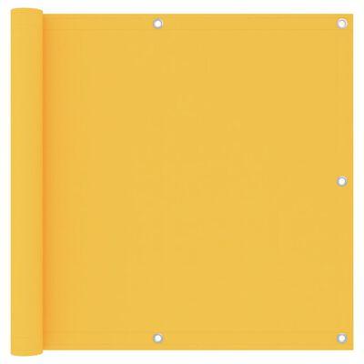 vidaXL sárga oxford-szövet erkélyparaván 90 x 600 cm