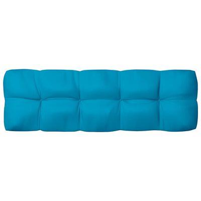 vidaXL kék raklapkanapé-párna 120 x 40 x 12 cm