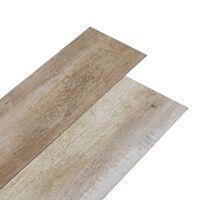 vidaXL antikolt faszínű 2 mm-es öntapadó PVC padlóburkolat 5,02 m²