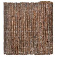 vidaXL fakéreg kerítés 400 x 150 cm