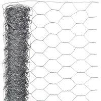 Nature hatszögletű horganyzott acél drótháló 0,5 x 10 m 25 mm