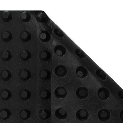 vidaXL gödrös HDPE vízelvezető lemez 400 g/m² 2 x 20 m