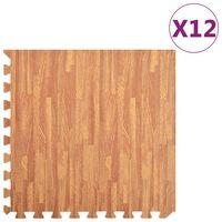 vidaXL 12 db famintás EVA habszivacs padlószőnyeg 4,32 ㎡