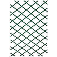 Nature zöld PVC kerti lugasrács 100 x 300 cm