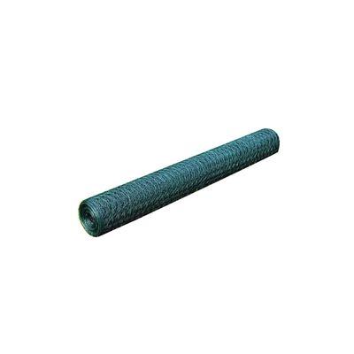 vidaXL zöld horganyzott csirkeháló drótkerítés PVC bevonattal 25x0,5 m