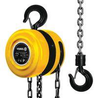 VOREL 80751 acél láncos csörlő 1000 kg sárga