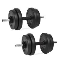 vidaXL 14 részes súlyzókészlet 20 kg
