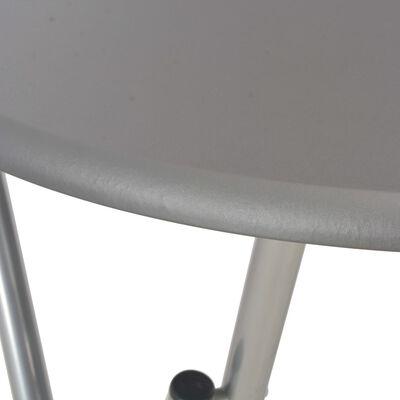 vidaXL antracitszürke MDF bárasztal 60 x 112 cm