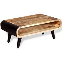 vidaXL nyers mangófa dohányzóasztal 90 x 55 x 39 cm