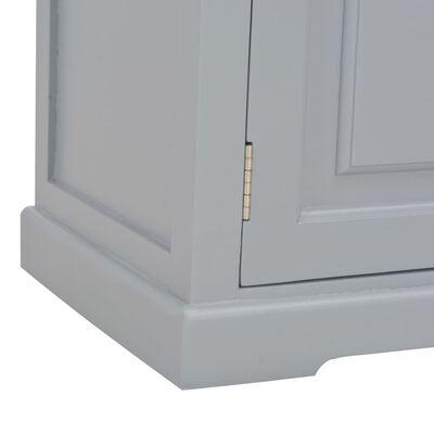 vidaXL szürke fa TV-szekrény 90 x 30 x 40 cm