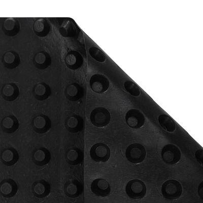 vidaXL gödrös HDPE vízelvezető lemez 400 g/m² 0,5 x 20 m