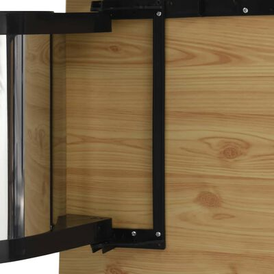 vidaXL beépíthető konyhai acélszemetes 8 l