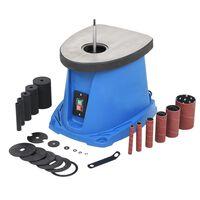 vidaXL oszcillációs orsócsiszoló 450 W kék