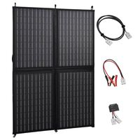 vidaXL összecsukható napelemtöltő 100 W 12 V