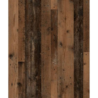 FMD régi stílusú sötét és matera színű megfordítható fali polc