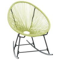 vidaXL zöld polyrattan kültéri Acapulco szék