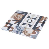 vidaXL mono mintás öntapadó PVC padlóburkolat 5,11 m²