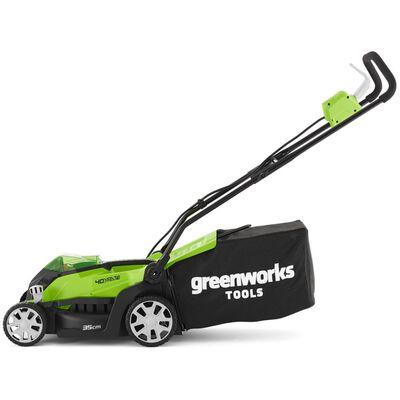 Greenworks G40LM35 2501907UC fűnyíró 2 db 40 V 2 Ah akkumulátorral