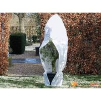Nature fehér téli cipzáras gyapjútakaró 70 g/m2 1,5 x 1,5 x 2 m