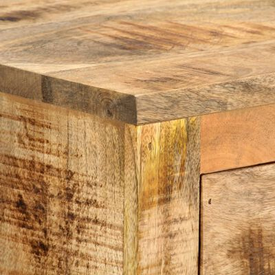 vidaXL tömör mangófa gurulós kisszekrény 70 x 40 x 75 cm