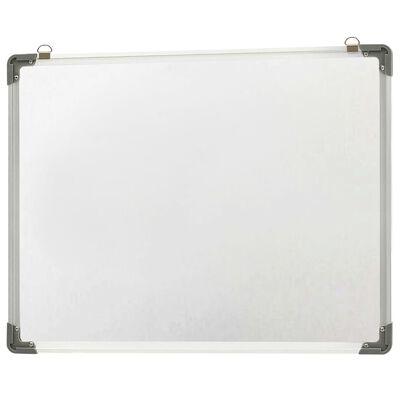 vidaXL szárazon letörölhető fehér acél mágnestábla 70 x 50 cm
