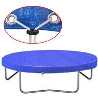 vidaXL trambulin takaróponyva PE 360-367 cm 90 g/m²