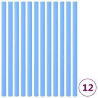 vidaXL 12 db kék trambulin tartóoszlop habszivacs védő 92,5 cm