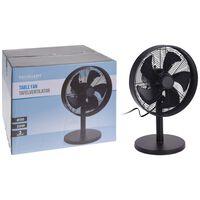 Excellent Electrics fekete asztali ventilátor 35 W